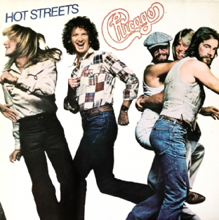 Chicago - Hot Streets (LP) (VG/VG-)